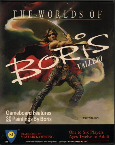 The Worlds of Boris Vallejo, Todd Johnson & Boris Vallejo