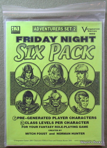 Friday Night Six Pack: Adventurers Set 2 (D20 System)