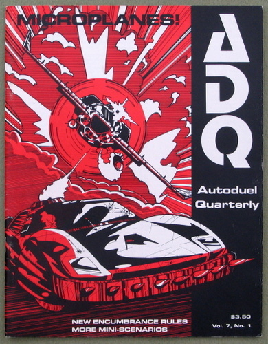 Autoduel Quarterly (ADQ: Car Wars) -- Microplanes (Vol. 7, No. 1)