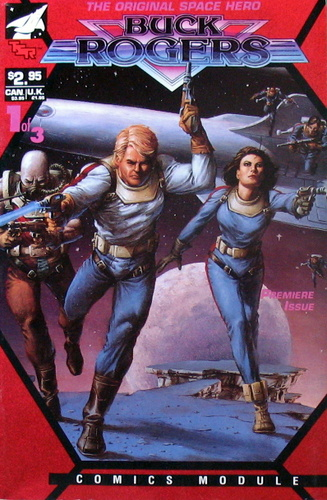Buck Rogers (Comics Module, Premiere Issue #1 of 3), Flint Dille