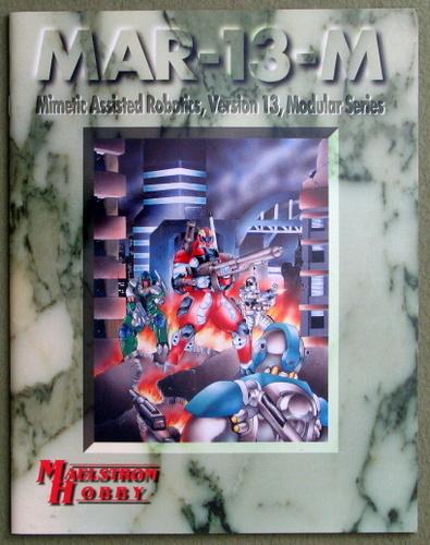 MAR-13-M: Mimetic Assisted Robotics, Version 13, Modular Series