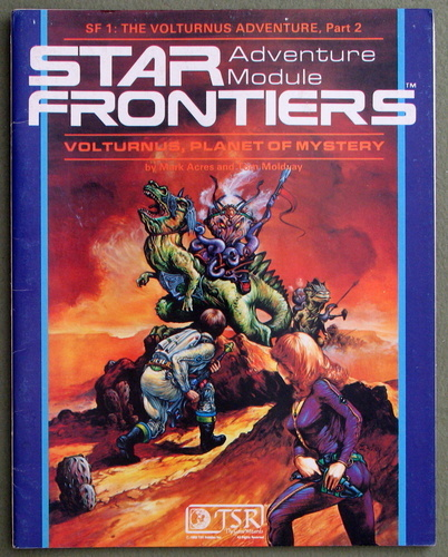 Volturnus, Planet of Mystery (Star Frontiers Module SF1), Mark Acres & Tom Moldvay