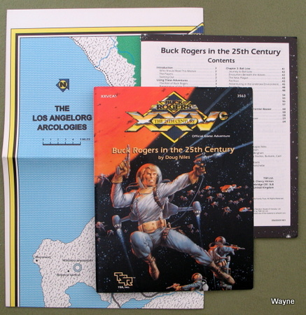 Buck Rogers in the 25th Century (XXVc RPG module XXVCA1), Doug Niles