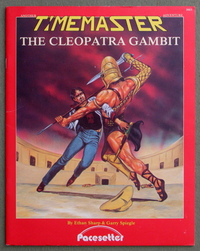 The Cleopatra Gambit (A Timemaster Adventure), Ethan Sharp & Garry Spiegle