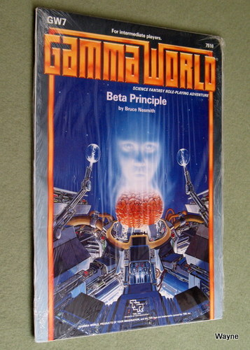 Beta Principle (Gamma World Module GW7), Bruce Nesmith