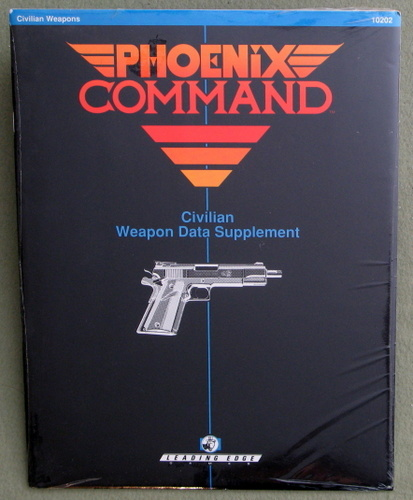 Civilian & Police Weapon Data Supplement (Phoenix Command)
