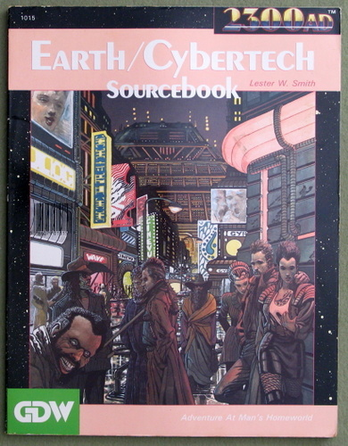 Earth-Cybertech Sourcebook (2300AD role playing game), Lester W. Smith