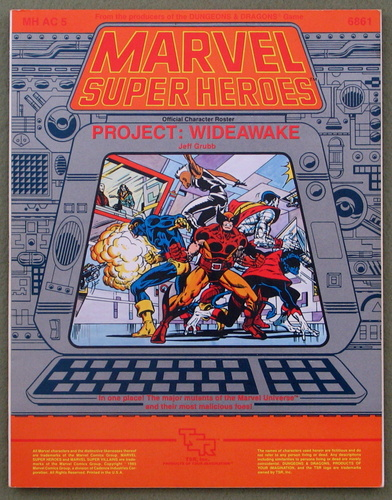 Project: Wideawake (Marvel Super Heroes accessory MHAC5), Jeff Grubb
