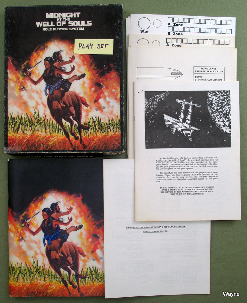 Midnight at the Well of Souls: Roleplaying System - PLAY SET, Timothy L. Green & Jack L. Chalker