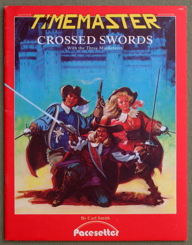 Crossed Swords: With the Three Musketeers (Timemaster), Carl Smith
