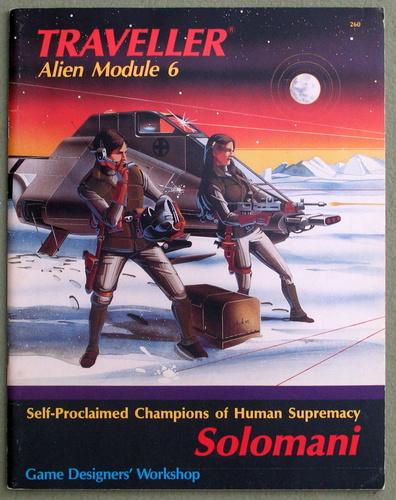 Solomani (Traveller Alien Module 6), Marc Miller & John Harshman