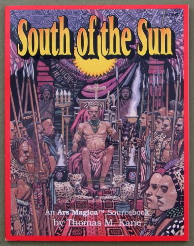 South of the Sun: An Ars Magica Sourcebook