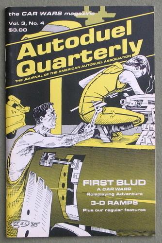 Autoduel Quarterly: Vol. 3, No. 4 (Car Wars)