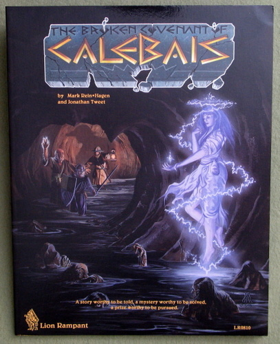 Broken Covenant of Calebais (Ars Magica, 2nd Edition), Mark Rein-Hagen & Jonathan Tweet