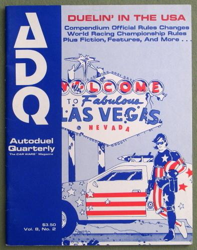 Autoduel Quarterly/ADQ: Vol. 8, No. 2 (Car Wars)