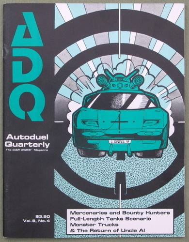 Autoduel Quarterly/ADQ: Vol. 8, No. 4 (Car Wars)