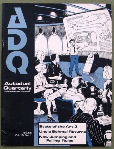 Autoduel Quarterly/ADQ: Vol. 10, No. 1 (Car Wars)