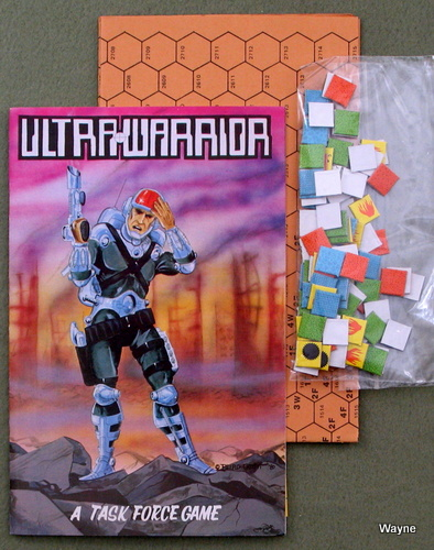 Ultra-Warrior: A Task Force Game, Thomas Zarbock