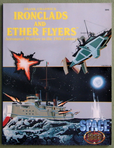 Ironclads & Ether Flyers: Aeronaval Combat for Space 1889