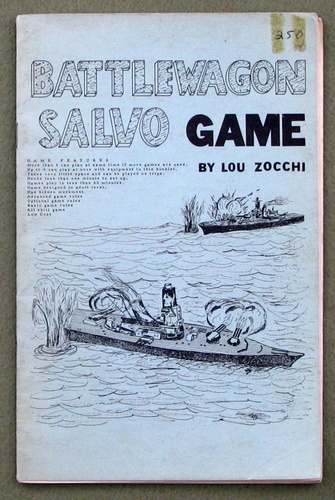 Battlewagon Salvo Game, Lou Zocchi