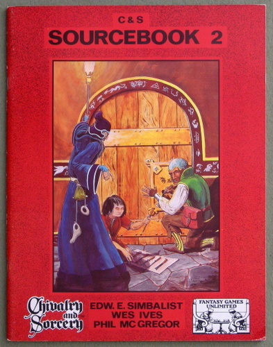 Chivalry & Sorcery Sourcebook 2 (2nd Edition), E.E. Simbalist