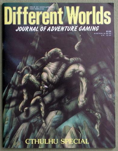 Different Worlds Magazine, Issue 45