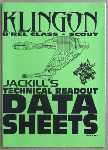 Klingon B'Rel Class Scout (Jackill's Technical Readout Data Sheets)