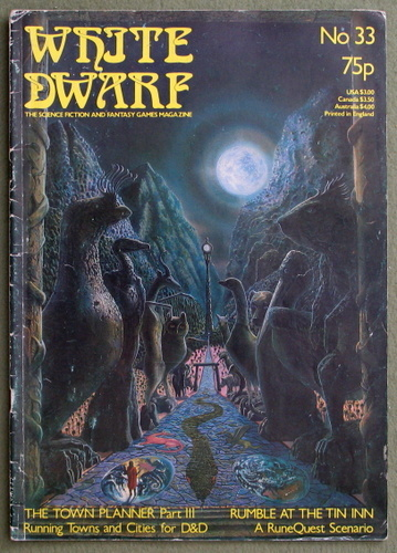 White Dwarf Magazine, Issue 33 - READING COPY