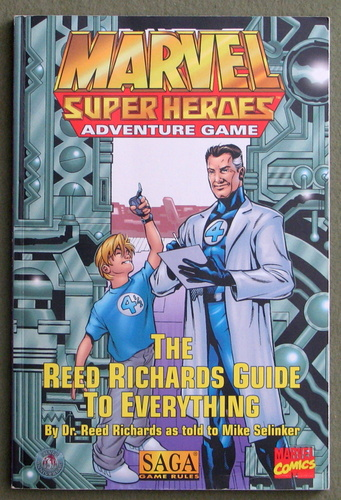 The Reed Richards Guide to Everything (Marvel Super Heroes: SAGA), Mike Selinker