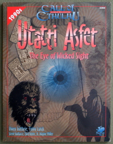 Utatti Asfet: The Eye of Wicked Sight (Call of Cthulhu)