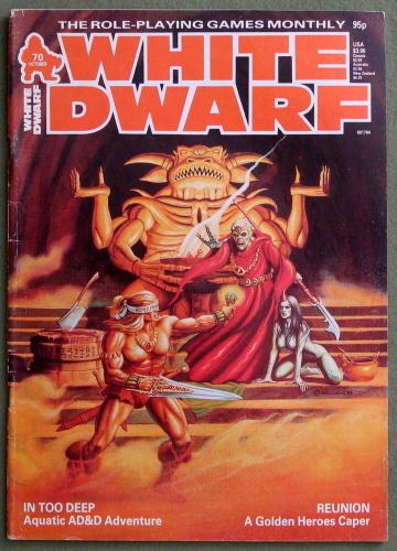 White Dwarf Magazine, Issue 70