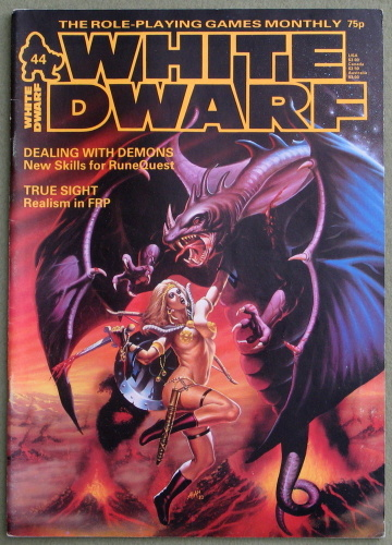 White Dwarf Magazine, Issue 44
