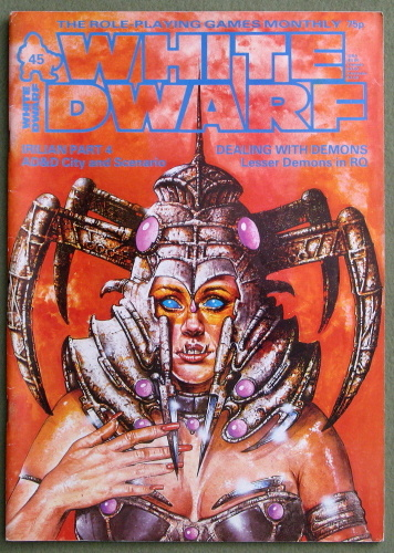 White Dwarf Magazine, Issue 45