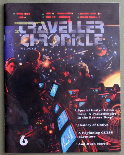 Traveller Chronicle, Issue 6 (Traveller: The New Era)