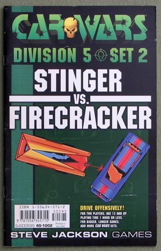 Car Wars Division 5 Set 2: Stinger vs. Firecracker
