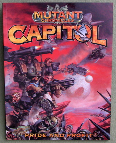 Capitol: Pride and Profit (Mutant Chronicles), Bill King