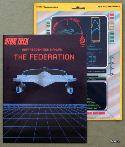 Ship Recognition Manual: The Federation (Star Trek: The Role-Playing Game)
