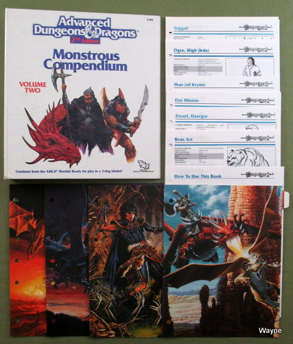 Monstrous Compendium, Volume 2: Dragonlance Appendix (Advanced Dungeons and Dragons)