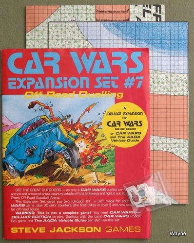Car Wars Expansion Set #7: Off-Road Dueling