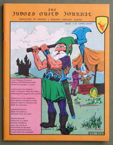 Judges Guild Journal, Issue 20 (April/May 1980)