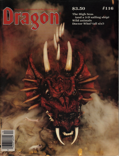 Dragon Magazine, Issue 116