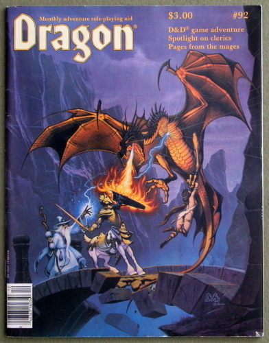 Dragon Magazine, Issue 93