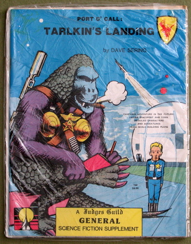 Port O' Call: Tarlkin's Landing (General Science Fiction Supplement)