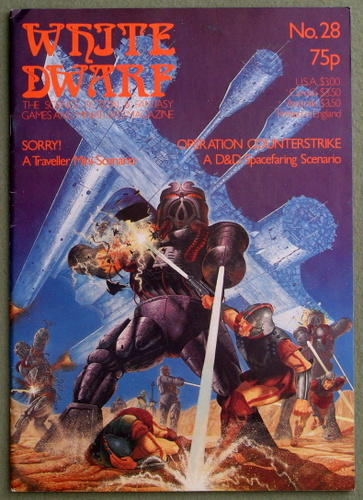 White Dwarf Magazine, Issue 28