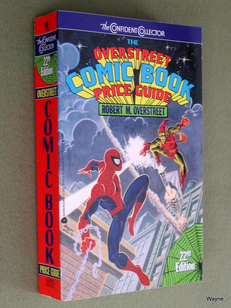 The Overstreet Comic Book Price Guide (22nd edition, 1992), Robert M. Overstreet