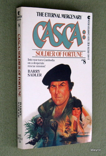 Casca: Soldier of Fortune (#8), Barry Sadler