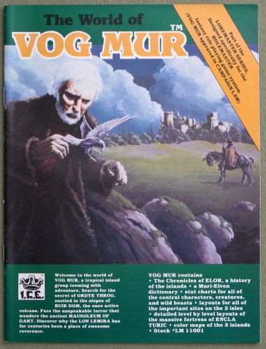 The World of Vog Mur (Loremaster/Rolemaster)