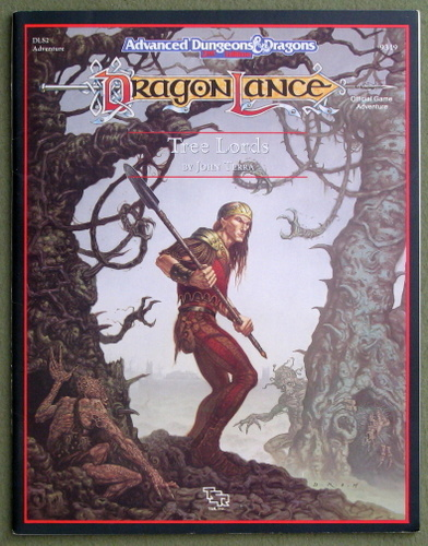 Tree Lords (Advanced Dungeons and Dragons / Dragonlance Adventure DLS2), John Terra