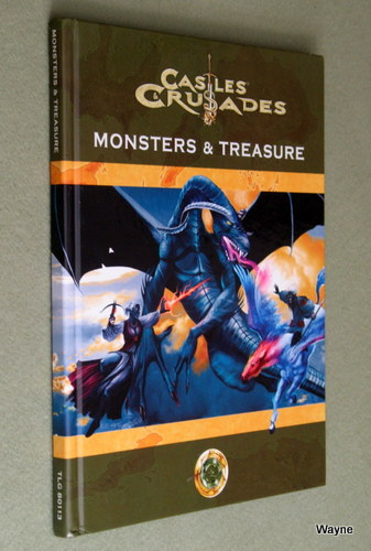 Castles & Crusades: Monsters and Treasure, 4th Printing