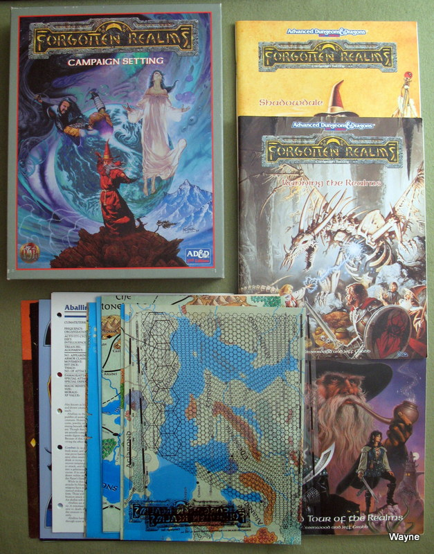 Forgotten Realms Campaign Setting (Advanced Dungeons & Dragons, 2nd Edition), Jeff Grubb & Ed Greenwood